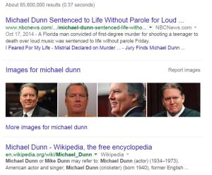 Google Michael Dunn
