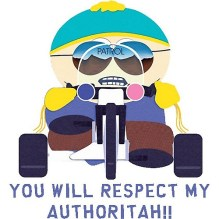 Cartman Respect My Authority 05272016